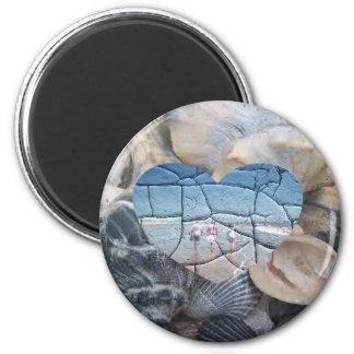 Broken Shells Magnet