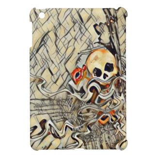 Broken skull iPad mini covers