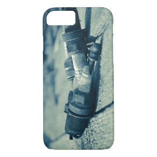 Broken Spark Plugs iPhone 8/7 Case