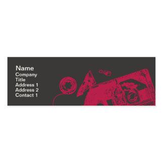 Broken Tape - Skinny Pack Of Skinny Business Cards