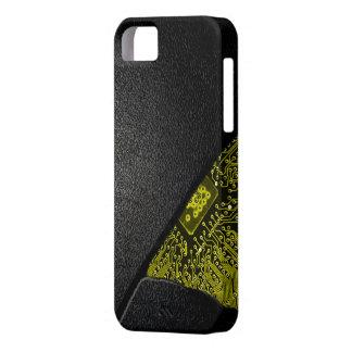 Broken Tech Case- Gold Glow iPhone 5 Cover