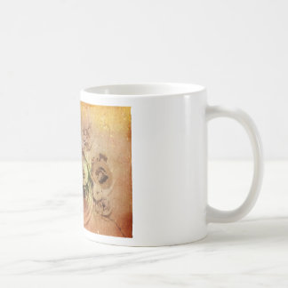 Broken Time Basic White Mug