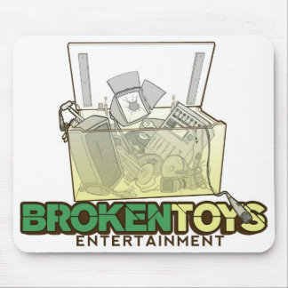 Broken Toys Mouse pad