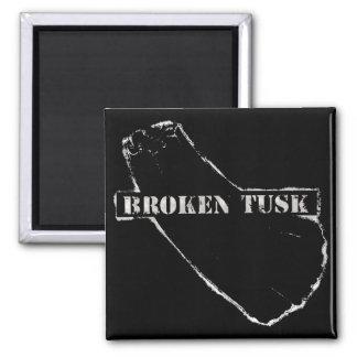 Broken Tusk Magnet