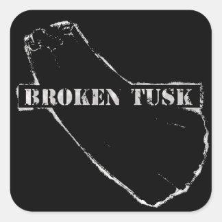 Broken Tusk Sticker