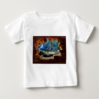Broken wall view baby T-Shirt