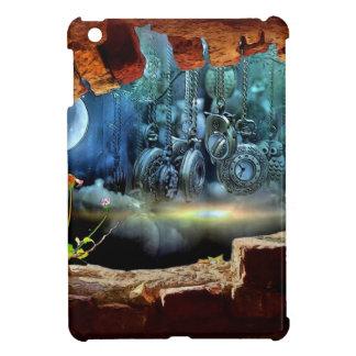 Broken wall view iPad mini case