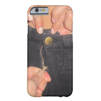 broken zipper barely there iPhone 6 case
