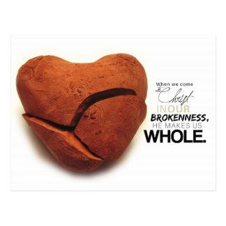 Brokenness Postcard