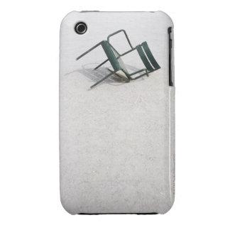 Brokent Chair, Jardin des Tuileries, Paris iPhone 3 Case-Mate Cases