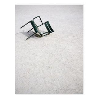 Brokent Chair, Jardin des Tuileries, Paris Postcard