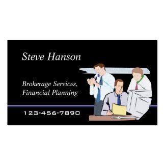 Brokerage Company Business Card Template