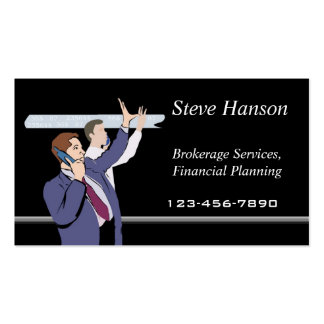 Brokerage Company Pack Of Standard Business Cards