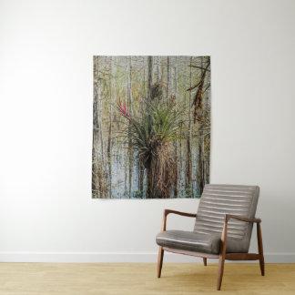 Bromeliad Wall Tapestry Everglades Art