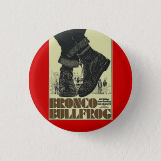 bronco bullfrog 3 cm round badge