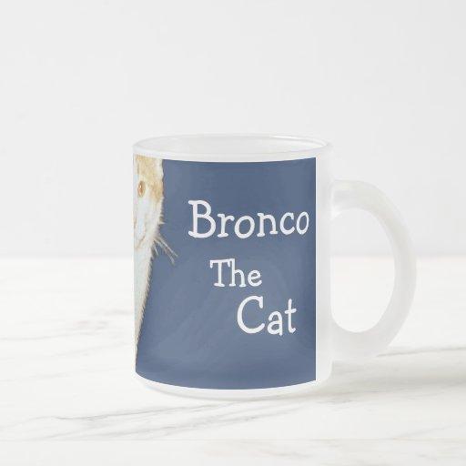 Bronco The Cat Mugs