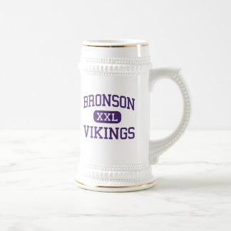 Bronson - Vikings - High School - Bronson Michigan Beer Stein