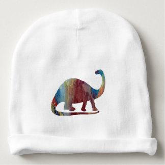 Brontosaurus Art Baby Beanie