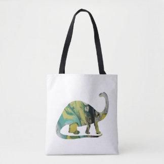 Brontosaurus Art Tote Bag