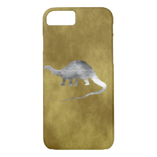 Brontosaurus Skeleton iPhone 7 Case