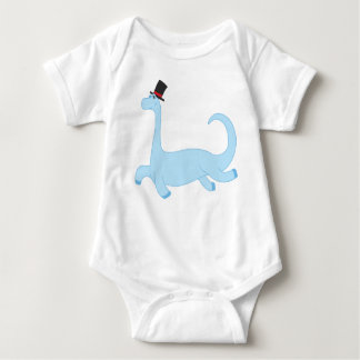 Brontosaurus - The Cool Dino Dancing Baby Bodysuit