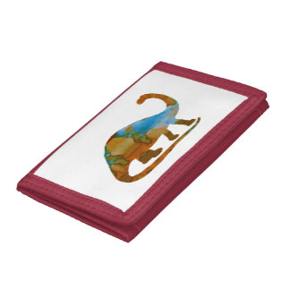 Brontosaurus Tri-fold Wallets