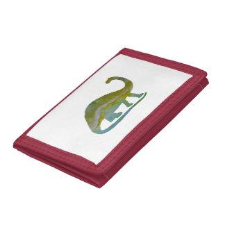 Brontosaurus Trifold Wallet