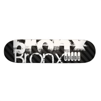 Bronx; Black & Dark Gray Stripes 20 Cm Skateboard Deck
