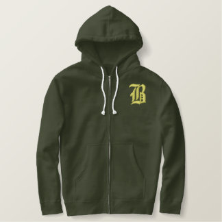 Bronx Embroidered Hoodie