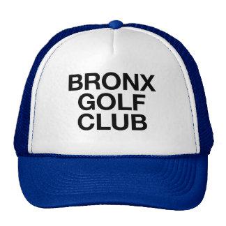 BRONX GOLF CLUB fun slogan trucker hat