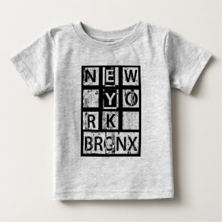 Bronx New York | Grunge Typography Baby T-Shirt