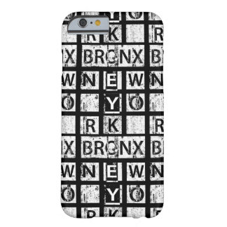 Bronx New York | Grunge Typography Barely There iPhone 6 Case