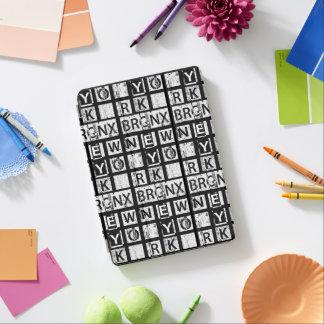 Bronx New York | Grunge Typography iPad Air Cover