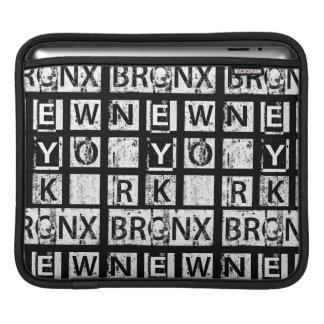 Bronx New York | Grunge Typography iPad Sleeve