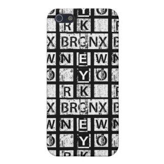 Bronx New York | Grunge Typography iPhone 5 Case