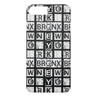 Bronx New York | Grunge Typography iPhone 8 Plus/7 Plus Case