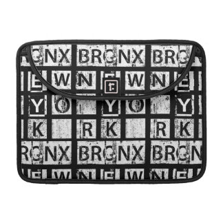 Bronx New York | Grunge Typography Sleeve For MacBook Pro