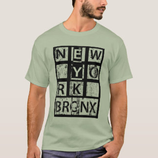 Bronx New York | Grunge Typography T-Shirt