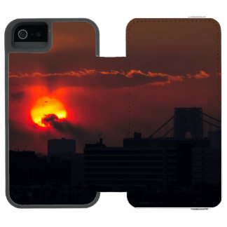 Bronx Sunset Incipio Watson™ iPhone 5 Wallet Case