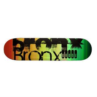 Bronx; Vibrant Green, Orange, & Yellow Skate Board Decks
