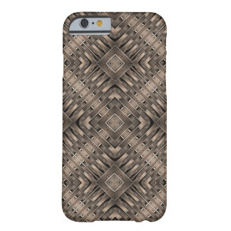 Bronze Age Geometric Pattern Barely There iPhone 6 Case
