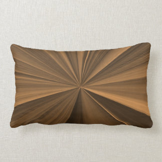 Bronze and Gold Pinch Knot Pillow