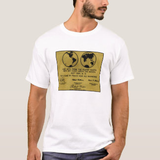 "Bronze ""APOLLO PLAQUE"" T-Shirt"