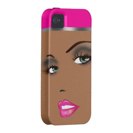 Bronze Beauty Pinup Femme Fatale Diva Vibe iPhone 4 Covers