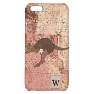 Bronze & Blush Wallaby, Butterflies iPhone Case iPhone 5C Case