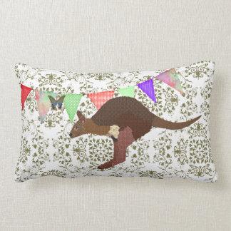 Bronze & Blush Wallaby Mojo Pillow Throw Cushion