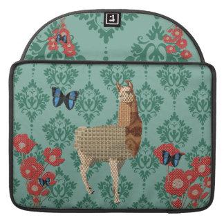 Bronze Boho Llama Jaded Damask Macbook Sleeve Sleeve For MacBooks
