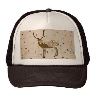 Bronze Buck Diamond Lid Hat
