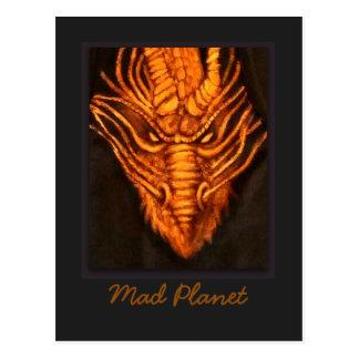 Bronze Dragon Head Postcard
