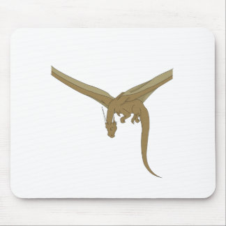Bronze Dragon Mouse Pad
